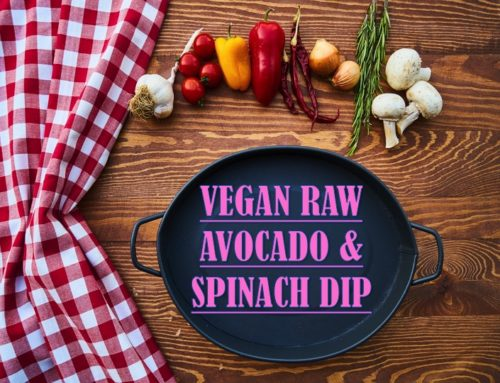 VEGAN RAW AVOCADO & SPINACH DIP