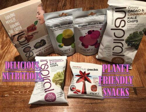 DELICIOUS, NUTRITIOUS, PLANET FRIENDLY SNACKS