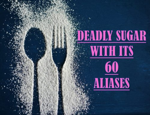 DEADLY SUGAR WITH ITS 60 ALIASES